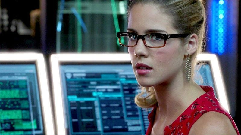 Felicity Smoak on Arrow