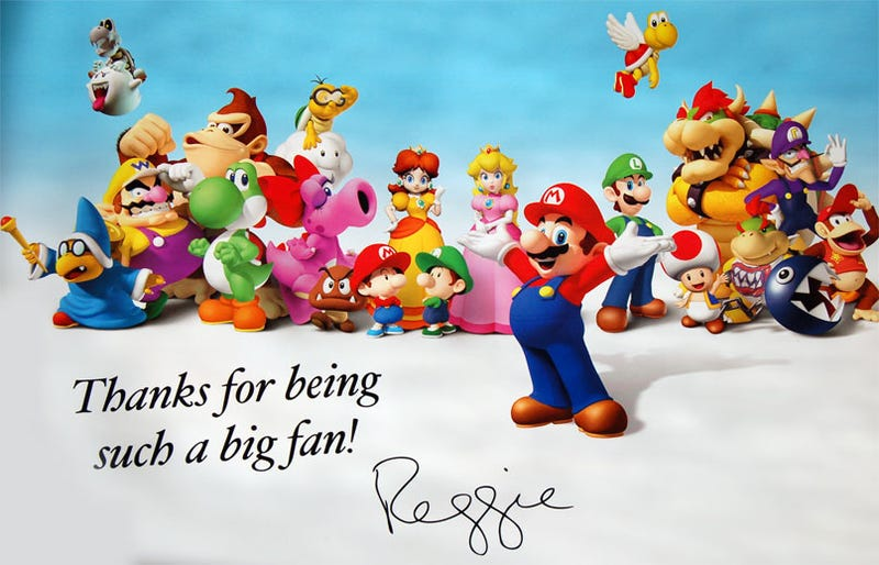 Illustration for article titled Nintendo Sends Thank Yous To My Nintendo Überfans