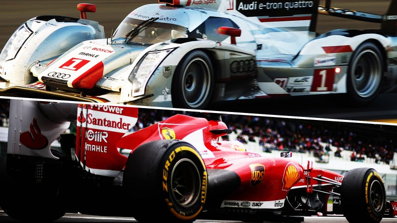 Illustration for article titled What's More Recognizable To Non-Gearheads: Le Mans Or F1?