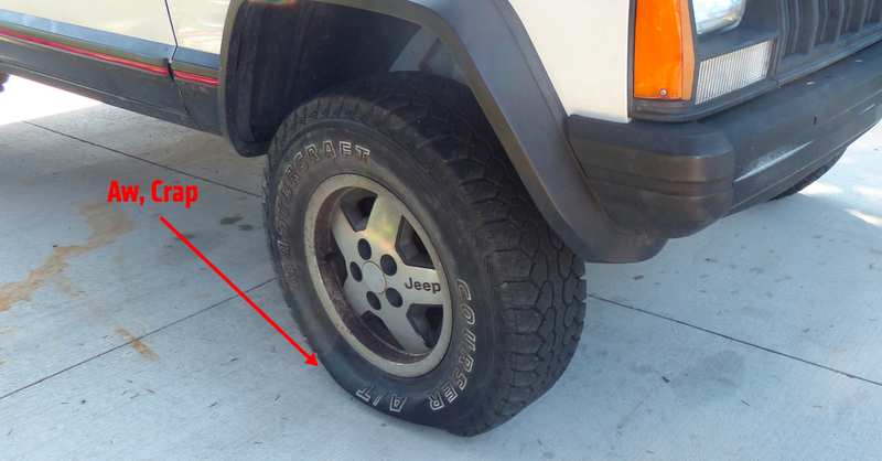 Tire For Less >> I Just Fixed A Hole In My Tire For Less Than Five Bucks And