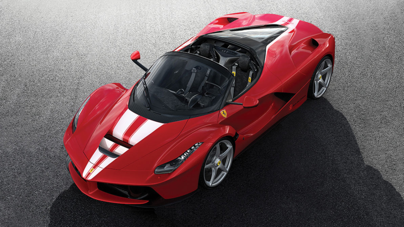 Final Ferrari LaFerrari Aperta sells for $10 million