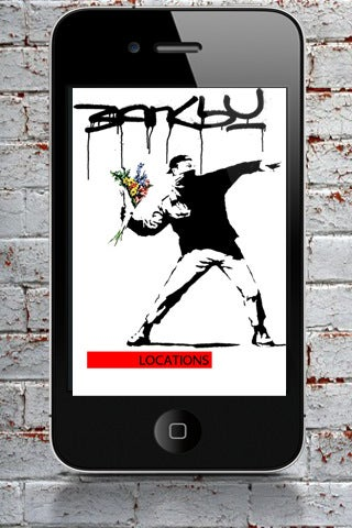 Illustration for article titled Banksy iPhone App Gallery