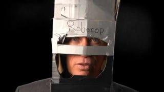 Illustration for article titled Robocop actor endorses Detroit's Robocop statue