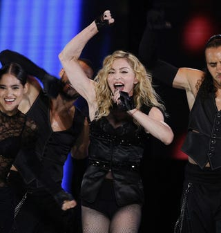 """Illustration for article titled Madonna """"Collapses"""" In Sofia; Cate Blanchett Injured In Sydney"""