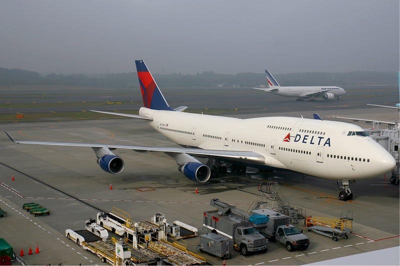 Un 747-400 de Delta Airlines. Foto: Wikimedia Commons