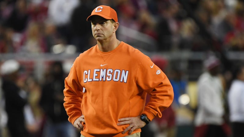 Illustration for article titled Dabo Swinney: Clemson Might Have Accidentally Given PEDs To Suspended Players