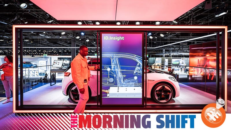 VW at the Frankfurt Motor Show this year