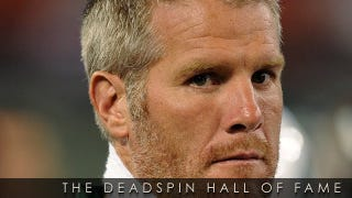 Illustration for article titled 2011 Deadspin Hall Of Fame Nominee: Brett Favre