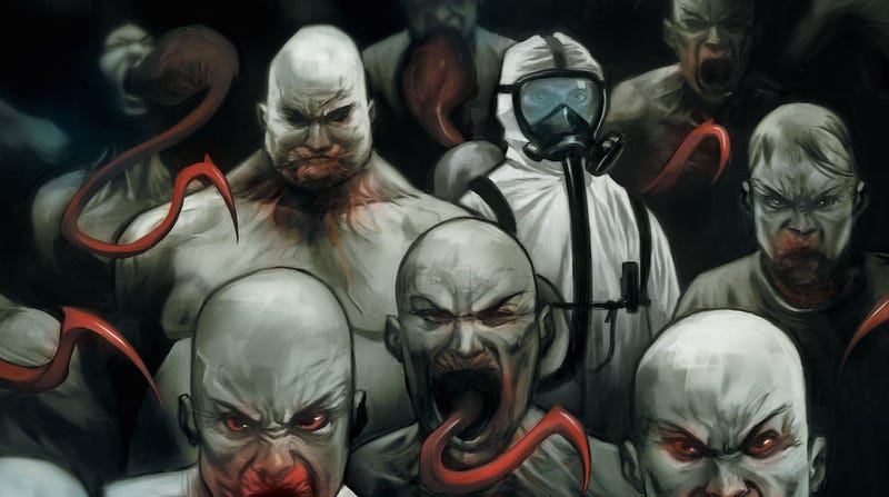 Illustration for article titled The Strain Comics Are So Close to the Show That It's Eerie
