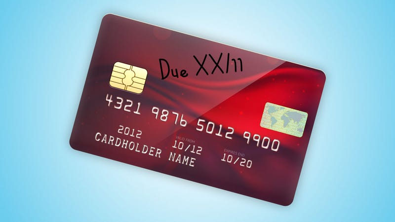 Write Your Bill's Due Date on Your Credit Card and Never Forget to Pay
