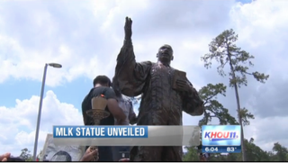 Martin Luther King Jr. Memorial statue unveiled in HoustonKHOU