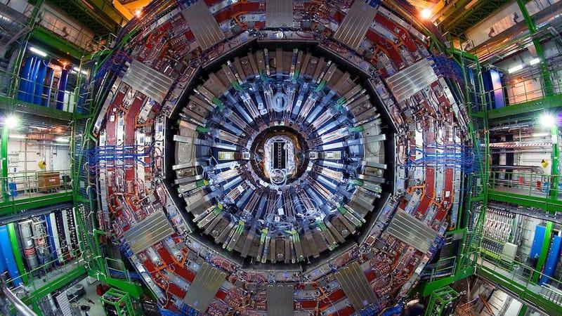 Illustration for article titled El CERN planea un acelerador de partículas tres veces más grande
