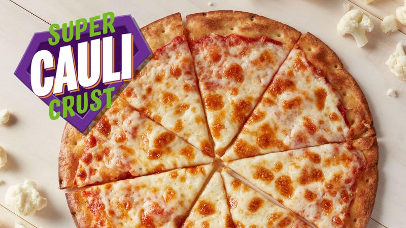 Illustration for article titled Cauliflower pizza reaches the epicenter of mainstream: Chuck E. Cheese