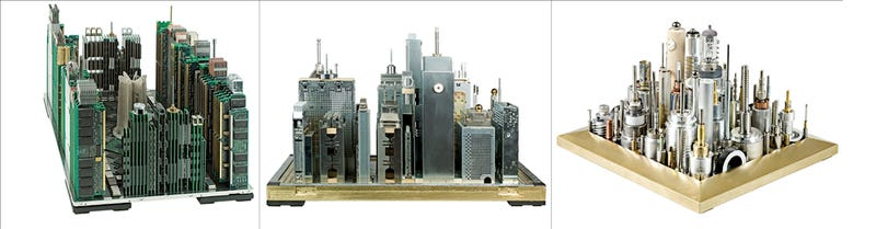 Illustration for article titled Miniature Cities Rise from the Ashes of Busted Technology