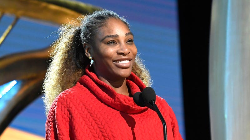 Serena Williams speaks during the 91st Annual Academy Awards rehearsals on February 23, 2019 in Hollywood, California.