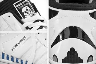 Illustration for article titled Adidas Imperial Stormtrooper Sneakers