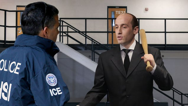 Stephen Miller Palms ICE Agent $50 Bill In Exchange For A Little Alone Time With Detained Migrants
