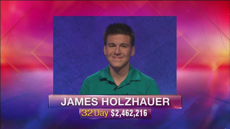 Illustration for article titled How James Holzhauer's Jeopardy! Run Finally Comes To An End
