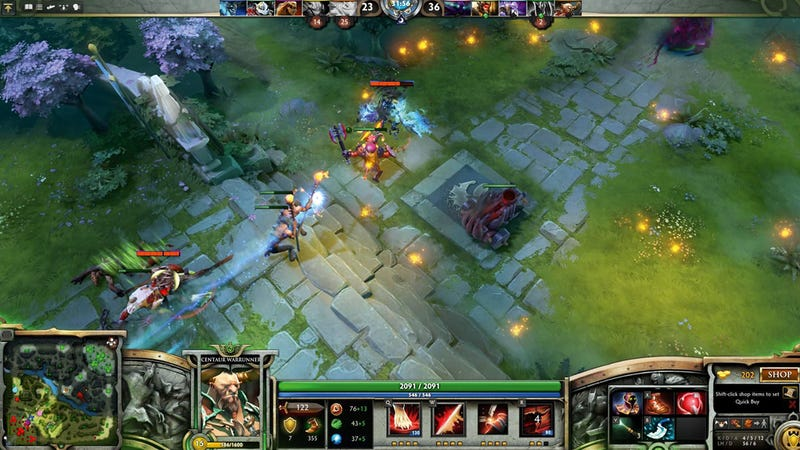 Illustration for article titled Reported DDoS Attack Delays Dota2 International For Three Hours