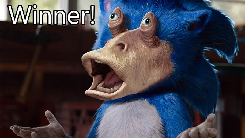 """Illustration pour l'article intitulé """"Concours de magasinage: Star Wars X Sonic, Winners!"""