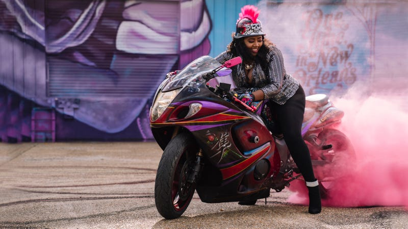 Illustration for article titled Curves Ahead: All-Female, NOLA-Based Motorcycle Club Caramel Curves Are Unexpected Tour Guides in New IGTV Show