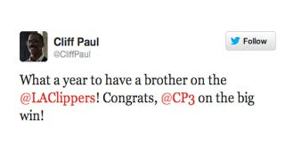 Illustration for article titled Chris Paul's Possibly Real Secret Twin Brother, Cliff, Is Now On Twitter