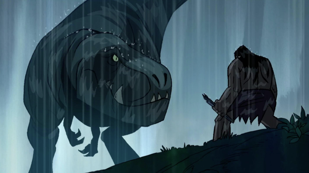 Genndy Tartakovsky's Primal is a harsh reminder that the food chain can't be beat