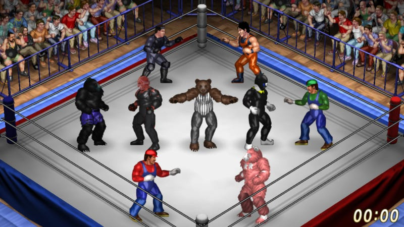 Illustration for article titled Steam's Latest Hit Is A Wrestling Game That Already Has Nearly 2,000 Custom Characters