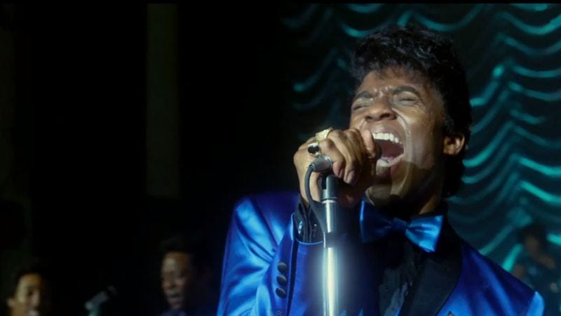 Illustration for article titled Trailer for James Brown biopic Get On Up promises funk, family drama
