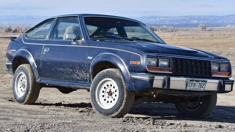 Illustration for article titled Don't Hate Me but I Have to Say It: The AMC Eagle Coupe Is Cooler Than the Wagon