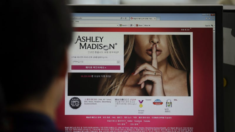 Illustration for article titled Unhappy Adulterers Can't Have Anonymity in Lawsuit Over Ashley Madison Hacks, Judge Rules
