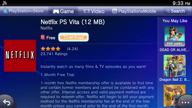 PlayStation TV's Video App Selection in the US is Rather
