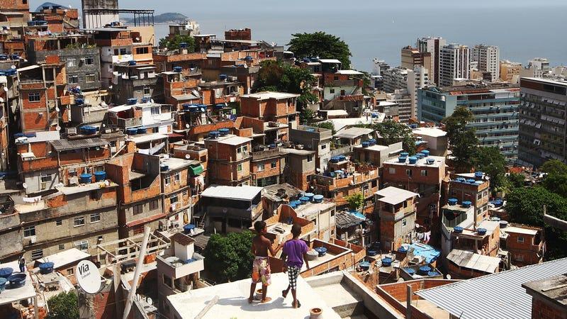 The Cantagalo shantytown community next to neighboring Pavao-Pavaozinho in Rio de Janeiro, Brazil, February 21, 2014