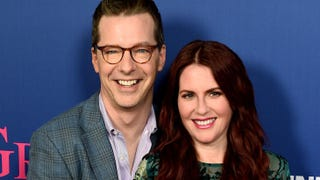 Illustration for article titled Megan Mullally and Sean Hayes John and Yoko'd