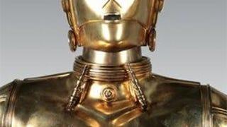 Life-Size <i>Star Wars</i> Droids Can Speak, Drain Wallets