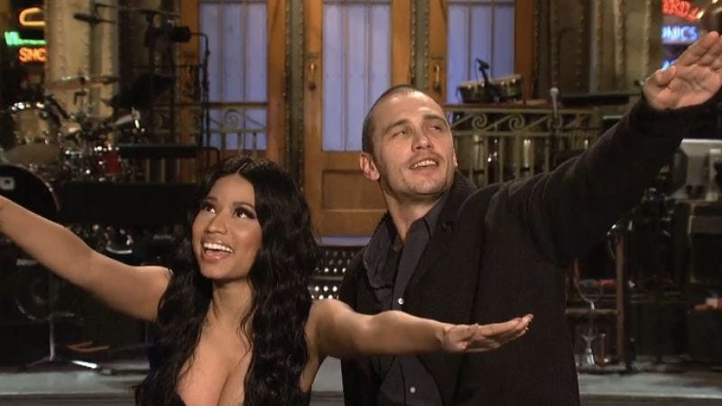 "Illustration for article titled Saturday Night Live: ""James Franco/Nicki Minaj"""