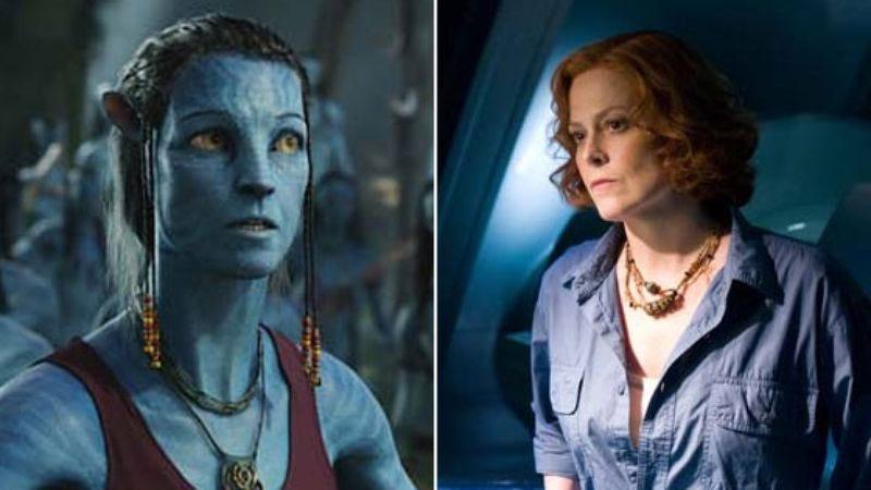 Illustration for article titled Sigourney Weaver will transform repeatedly in the new Avatar movies