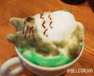 Illustration for article titled Relax, 3D Latte Art Has Been Perfected