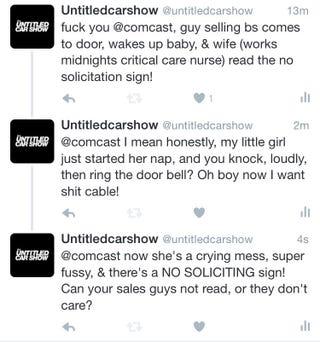 Illustration for article titled I hate comcast