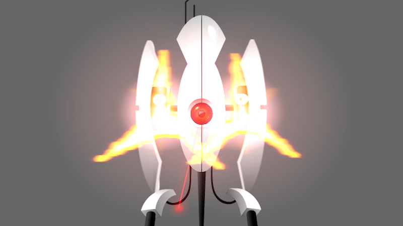 Illustration for article titled This Motion-Tracking Portal Turret Uses Your Webcam To Keep Intruders Out