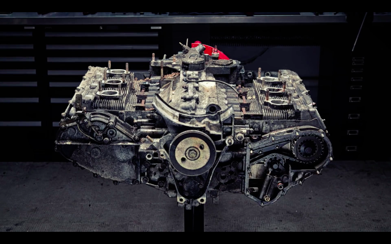 Watch a porsche 911 flat six get dissected in high definition photo 911 magazinevimeo malvernweather Gallery