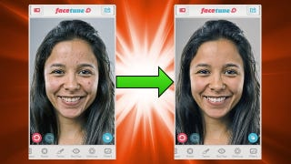 Illustration for article titled Facetune Touches Up Portraits with Powerful Tools and Filters