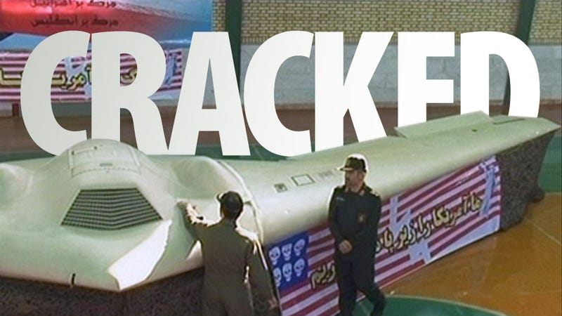 Illustration for article titled Iran Cracks US Stealth Spy Drone's Secrets, Shows Proof