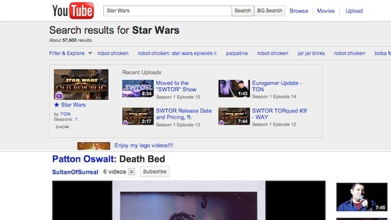 Yt Background Search For Chrome Explores Youtube Without Leaving The