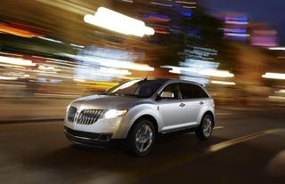 Illustration for article titled 2011 Lincoln MKX: Detroit Show Press Photos