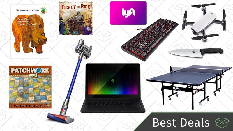 Illustration for article titled Thursday's Best Deals: Board Game and PC Gaming Gold Boxes, Dyson Vacuums, and More