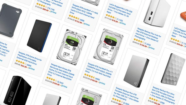 Seagate s Prime Day Discounts Include a Bunch of Internal and External Hard Drives