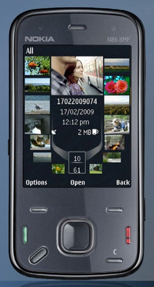 Illustration for article titled Leaked Nokia N86 Features an 8MP Camera
