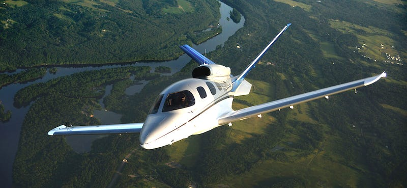 Illustration for article titled The Cirrus Vision SF50 Might Be The Easiest Way To Get Your Own Private Jet