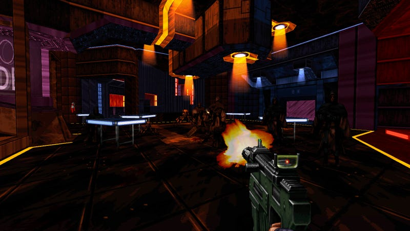 Illustration for article titled Duke Nukem 3D's Creators Just Released A New Shooter Built On a 1995 Engine